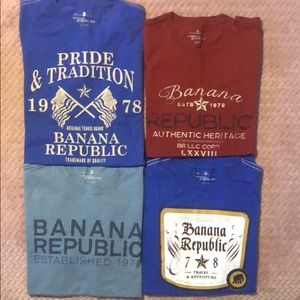 mens Banana Republic t-shirts size small
